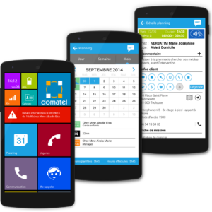 Domatel Mobile Groupe UP