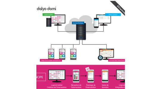 Dalyo Domi, solution de télégestion mobile